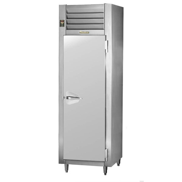 Traulsen AHF132W-FHS 24.8 Cu. Ft. Solid Door Single Section Reach In Heated Holding Cabinet - Specification Line