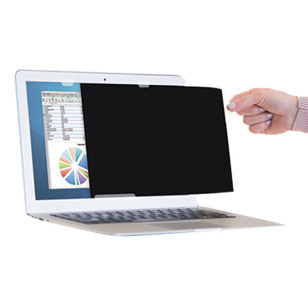"Fellowes 4801001 PrivaScreen 17"" 16:10 Widescreen LCD / Notebook Privacy Filter"