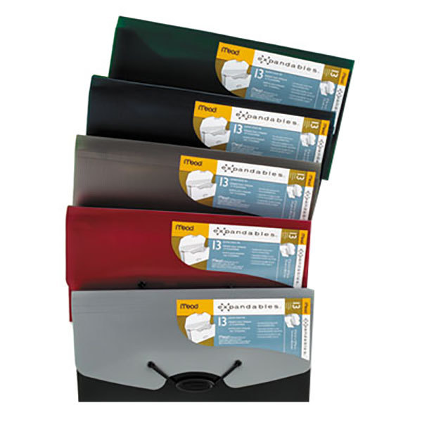 Mead 35904 Check Size 13-Pocket Expanding File - Assorted Color Main Image 1