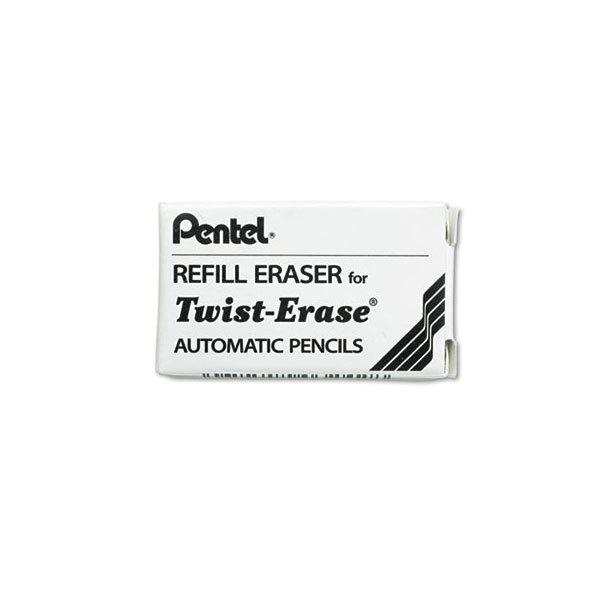 Pentel E10 White Eraser Refills - 3/Pack