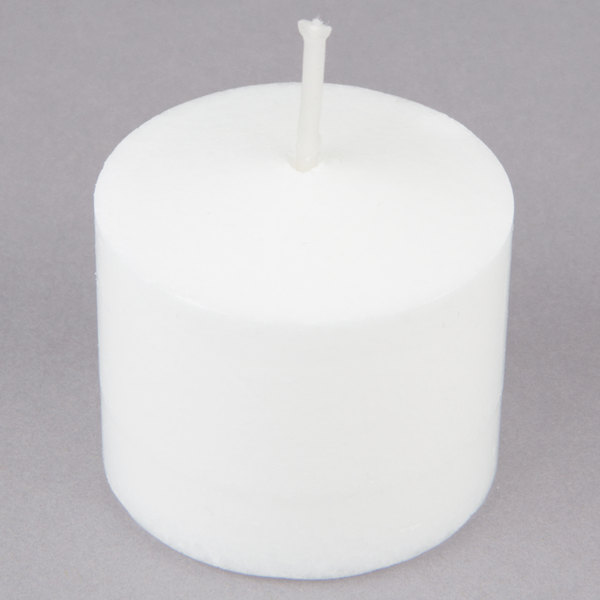 Leola Candle 10 Hour White Votive Candle  - 72/Pack