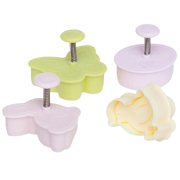 Ateco 1991 4-Piece Plastic Easter Plunger Cutter Set (August Thomsen)