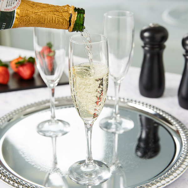 Anchor Hocking 80019 Florentine 6 oz. Champagne Glass - 24/Case