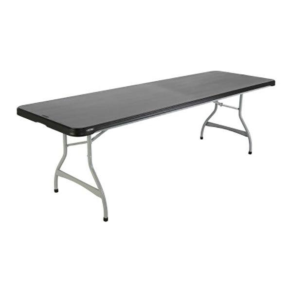 Lifetime 880462 30 X 96 Rectangular Black Plastic Nesting Folding Table 27 Pack