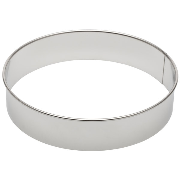 "Ateco 14408 8"" Metal Circle Cookie Cutter"