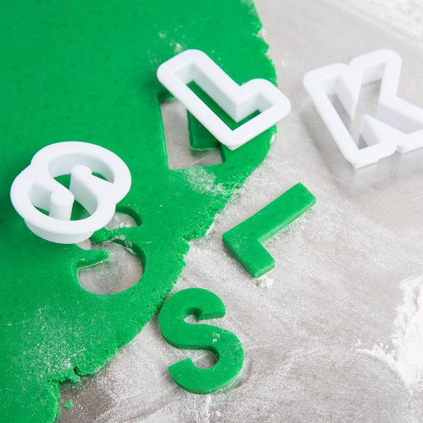 Ateco 5770 26-Piece Plastic Alphabet Cutter Set (August Thomsen)
