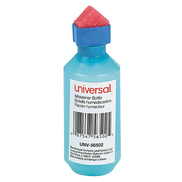 Universal UNV56502 2 oz. Squeeze Bottle Envelope Moistener
