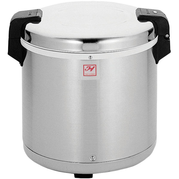 Thunder Group SEJ22000 50 Cup Rice Warmer with Mirror Finish - 120V