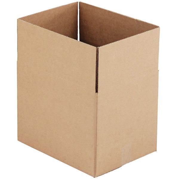 "16"" x 12"" x 12"" Kraft Shipping Box - 25/Bundle Main Image 1"