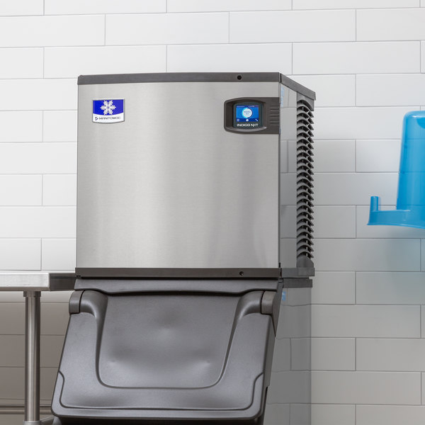 "Manitowoc ID-0322A Indigo Series 22"" Air Cooled Full Size Cube Ice Machine - 120V, 335 lb."