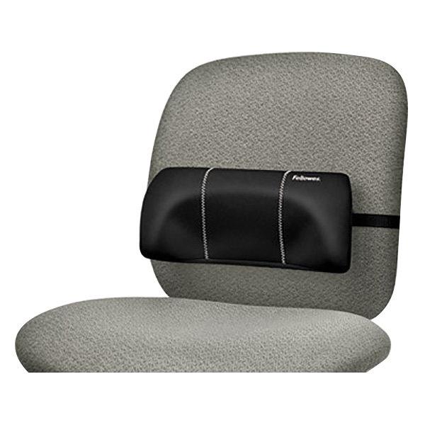 Black Portable Lumbar Seat Cushion
