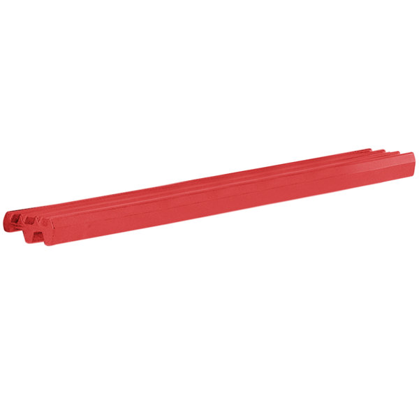 Cambro VBRR6158 6' Hot Red Tray Rail for Versa Food Bars and Work Tables