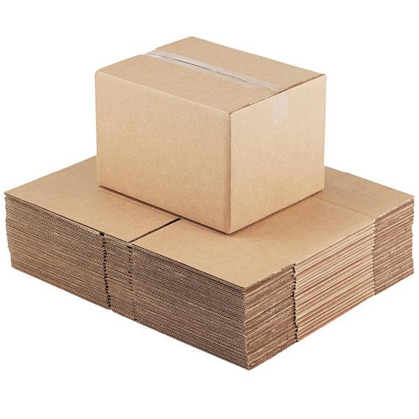 "200lb Lot of 20 Test//ECT-32 20/""x12/""x8/"" Cardboard Corrugated Box"