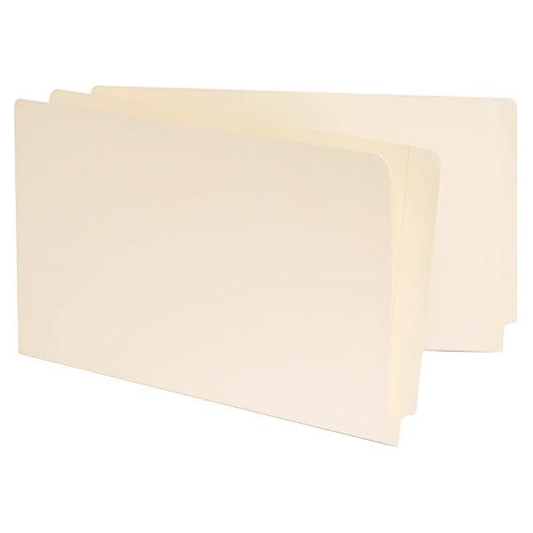 Universal UNV13350 Legal Size File Folder - Standard Height with Straight Cut End Tab, Manila - 100/Box