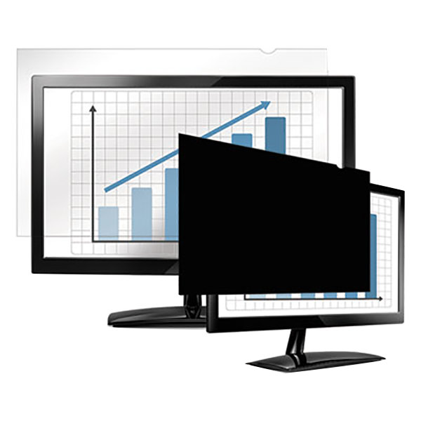 "Fellowes 4807001 PrivaScreen 21 1/2"" 16:9 Widescreen LCD / Notebook Privacy Filter Main Image 1"