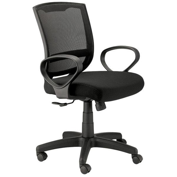 Eurotech Seating Mt3000 Black Maze Fabric Mesh Swivel Office Chair
