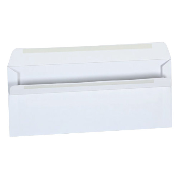 "Universal UNV36100 #10 4 1/8"" x 9 1/2"" White Side Seam Business Envelope with Self-Sealing Adhesive Strip - 500/Box"