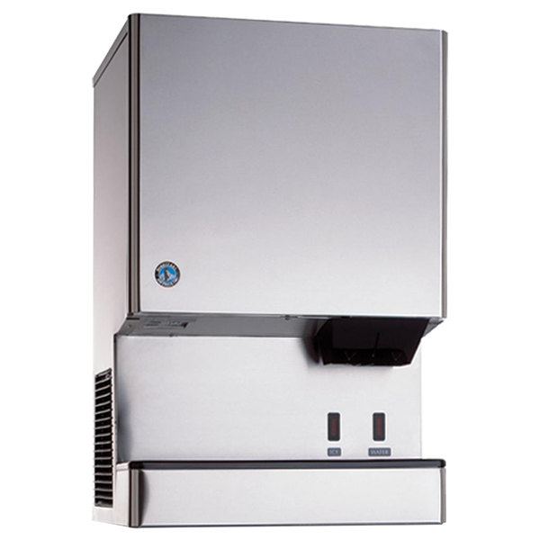 Hoshizaki DCM-300BAH-OS Opti-Serve Countertop Ice Maker and Water Dispenser - 40 lb. Storage Air Cooled
