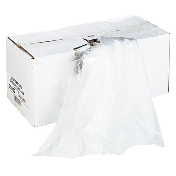 Universal UNV35952 56 Gallon High-Density Shredder Bag - 100/Box