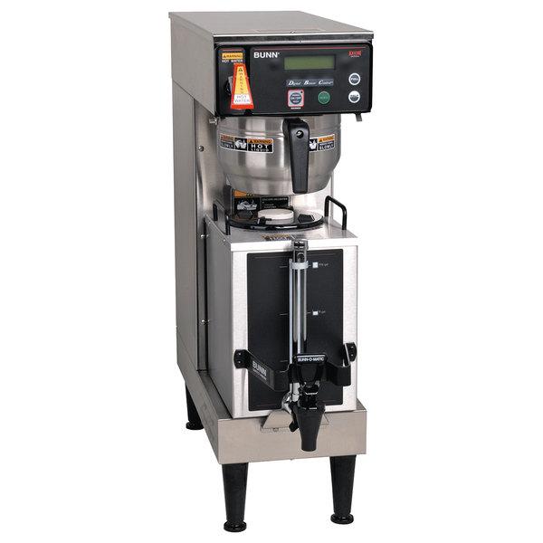 Bunn 38700.0045 AXIOM Single 1 Gallon Coffee Brewer with Portable Server - 120/208-240V Main Image 1
