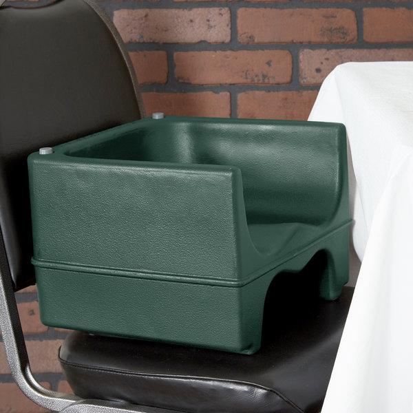 Cambro 200BC1519 Green Plastic Dual Booster Seat