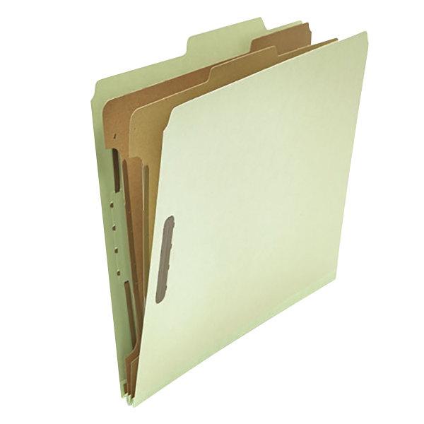 Universal UNV10273 Letter Size Classification Folder - 10/Box Main Image 1