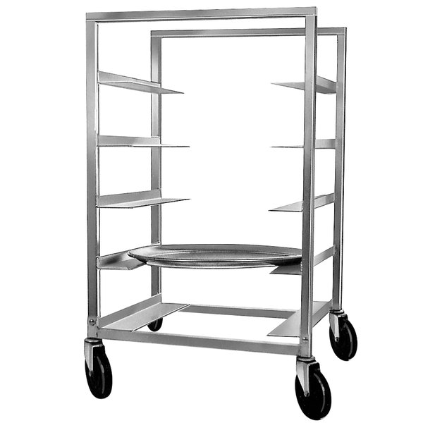 Channel OT-63 5 Tray Aluminum Oval Tray Rack - Assembled