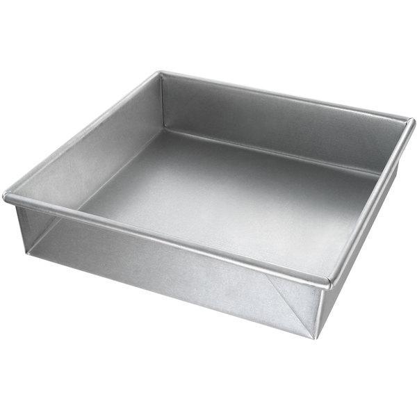 """Chicago Metallic 21500 9"""" x 9"""" Customizable Square Cake Pan"""