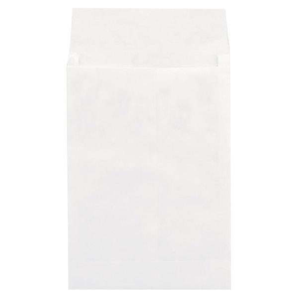 "Universal UNV19003 10"" x 13"" White Tyvek® Press and Seal Expansion Envelope - 100/Box"