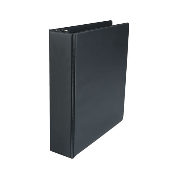 """Universal UNV34401 Black Economy Non-Stick Non-View Binder with 2"""" Round Rings"""