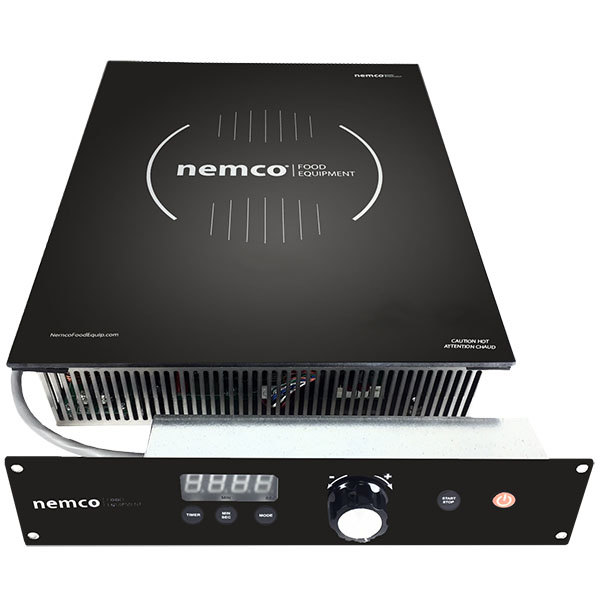 Nemco 9101-1 Drop-In Induction Warmer with Remote Controls - 208/240V, 400W Main Image 1