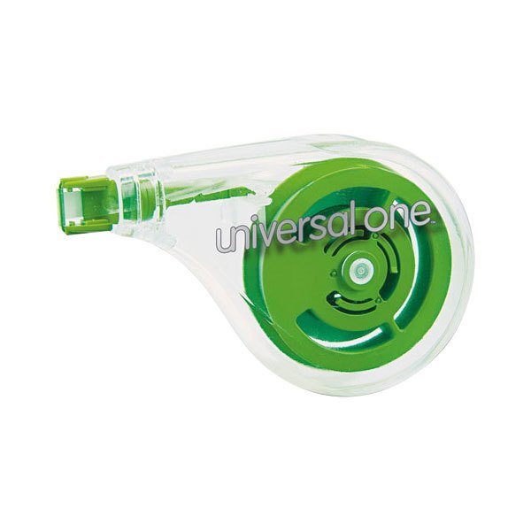 "Universal UNV75609 1/5"" x 393"" Sideways Application Correction Tape - 2/Pack"