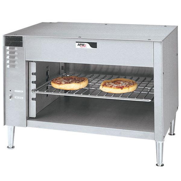 "APW Wyott CMC-48 48"" Countertop Cheese Melter - 208V"