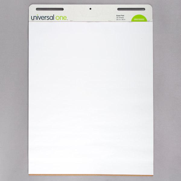 UNV35603 Self-Stick Easel Pads