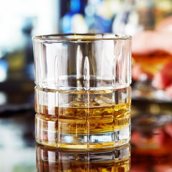 Anchor Hocking 68349 Tartan 10.5 oz. Rocks / Old Fashioned Glass - 12/Case