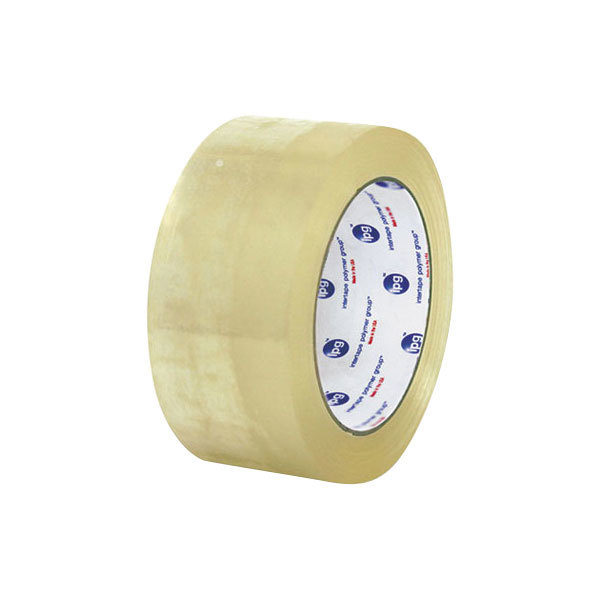 """United Facility Supplies 934419 3"""" x 109 Yards Clear General-Purpose Box Sealing Tape - 24/Case"""