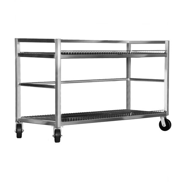 Channel MC2472-2 Transport Flight Cart with 2 Shelves