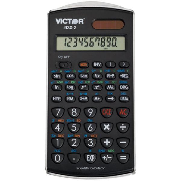 Victor 930-2 10-Digit LCD Solar Battery Powered Scientific Calculator