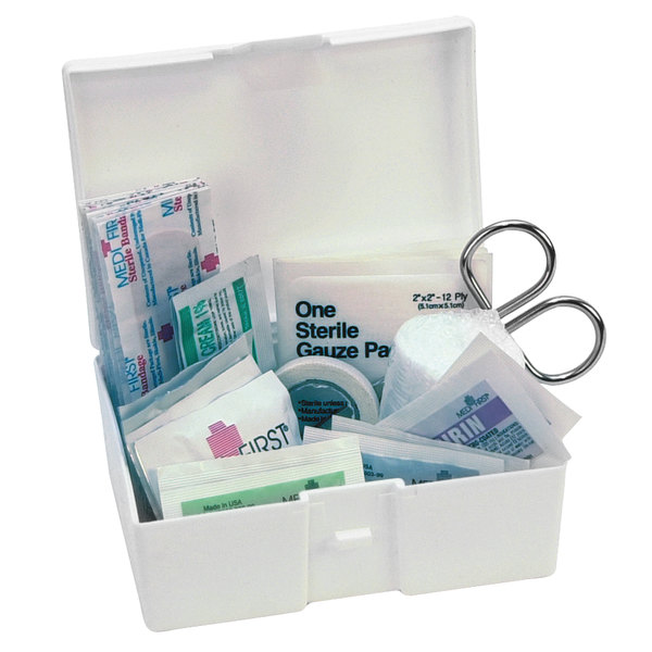 Medique 729P1 35 Piece Small Travel / Car First Aid Kit Main Image 1