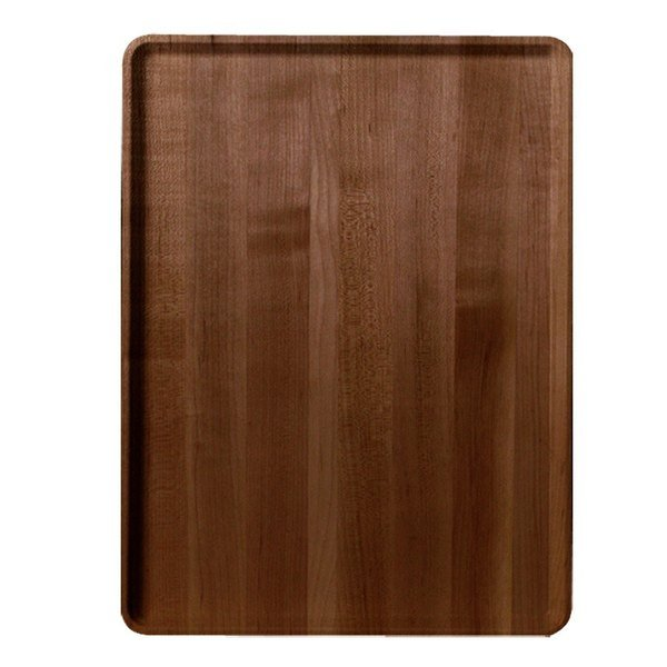 "Cambro 1220D309 12"" x 20"" Java Teak Wood-Look Dietary Tray - 12/Case"