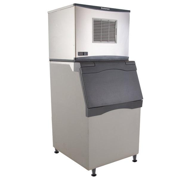 "Scotsman C0530MA-1D Prodigy Series 30"" Air Cooled Medium Cube Ice Machine with Bin - 525 lb."