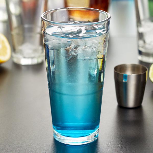 Libbey 15791 Restaurant Basics Customizable 20 oz. Stackable Mixing Glass - 24/Case