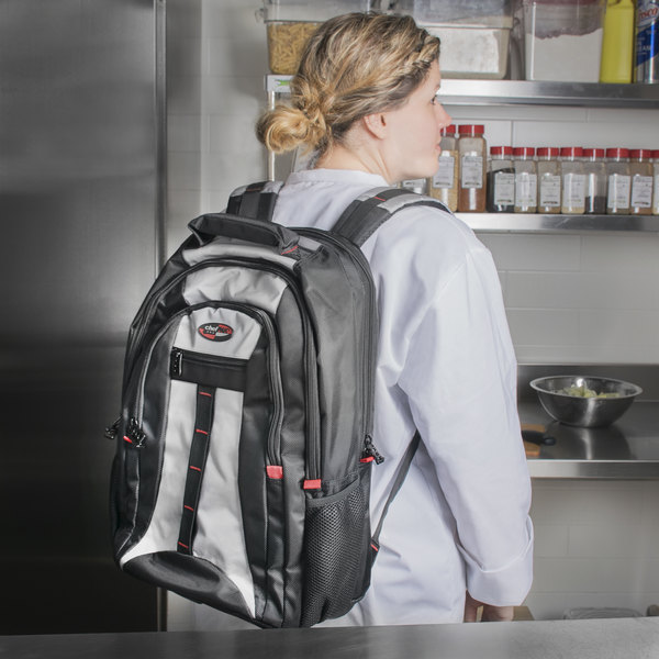 Dexter-Russell 20349 Black Cutlery Backpack with Knife Case Insert Main Image 8