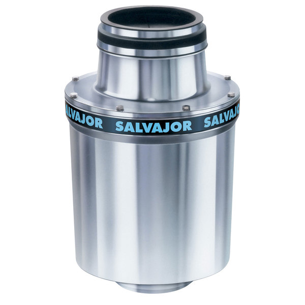 Salvajor 300 Commercial Garbage Disposer - 460V, 3 Phase, 3 hp on