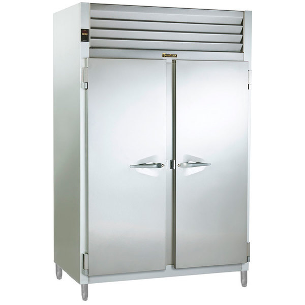 Traulsen AHF232W-FHS 52.8 Cu. Ft. Solid Door Two Section Reach In Heated Holding Cabinet - Specification Line