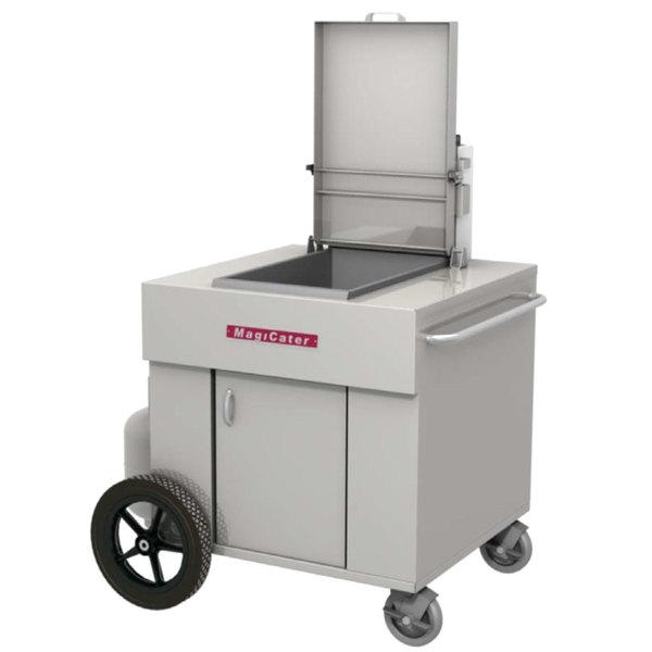 MagiKitch'n MCF18 MagiCater 65 lb. Liquid Propane Portable Outdoor Fryer - 150,000 BTU