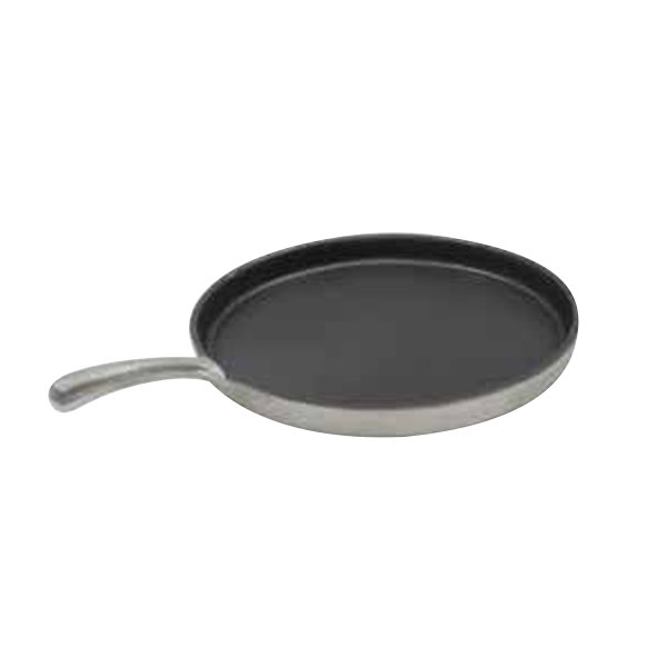 """Tablecraft CW4100NS 16"""" Non-Stick Cast Aluminum Pizza Tray with Handle"""