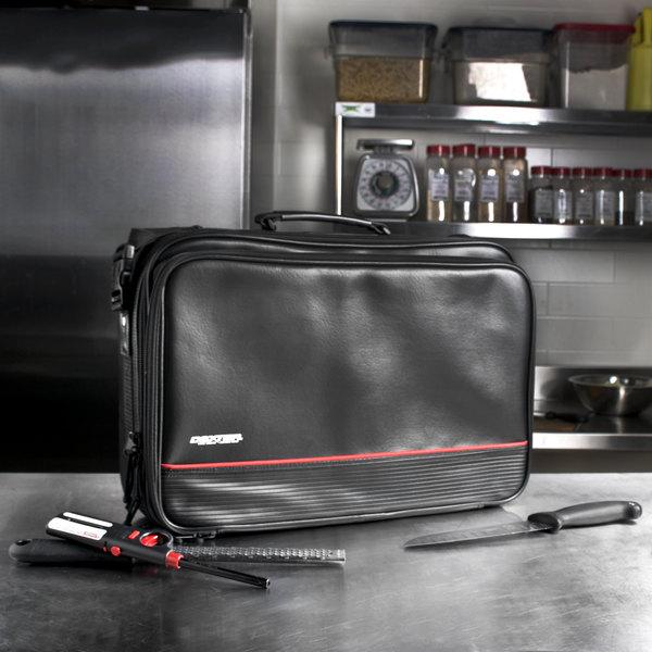Dexter-Russell 20201 27 Pocket Black Cutlery Attache Knife Case Main Image 6