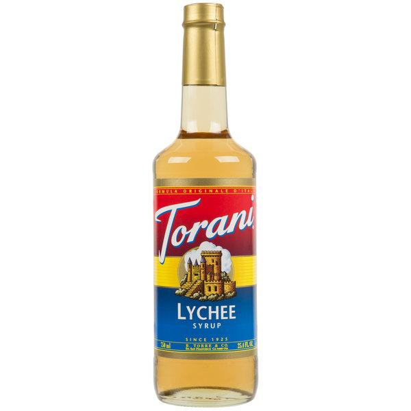 Torani 750 mL Lychee Flavoring Syrup