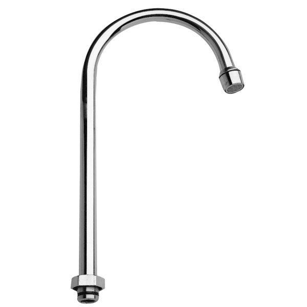 """Fisher 3966 12"""" Rigid Gooseneck Spout with 2.2 GPM Aerator"""